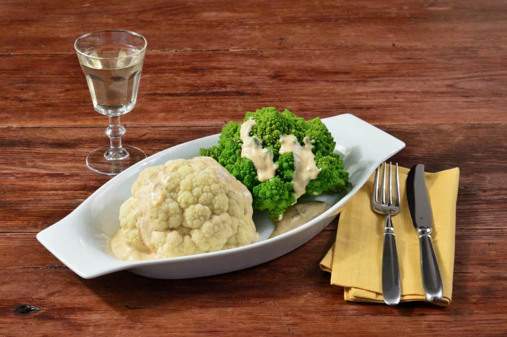 Blumenkohl und Broccoli schonend gegart mit Dampfgenuss