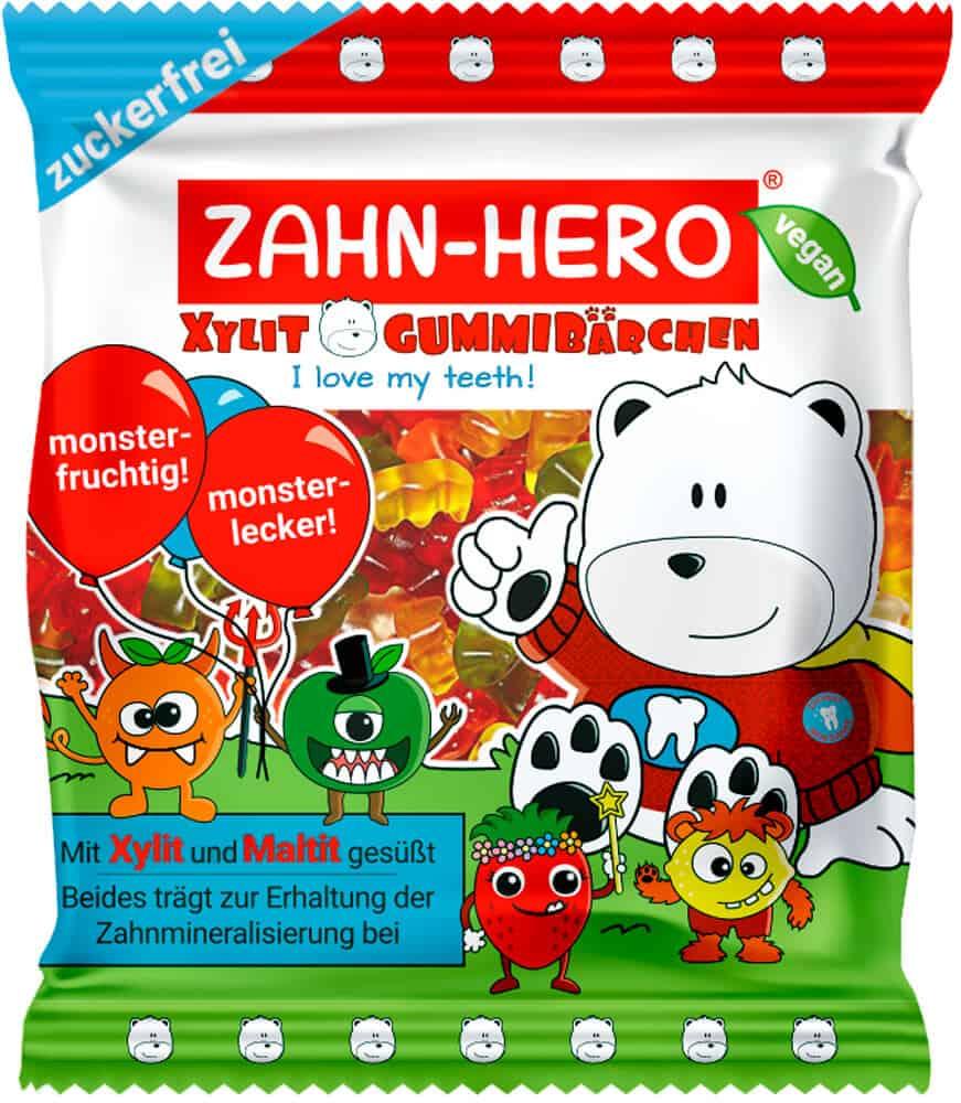 Zahn Hero vegane gummibärchen