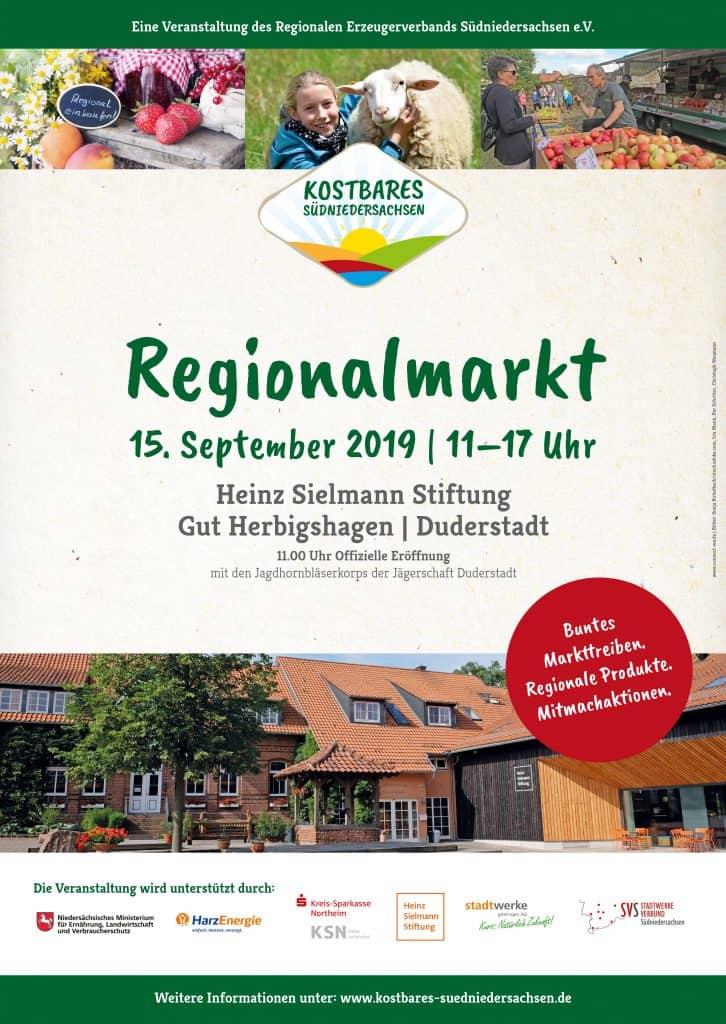 Plakat Regionalmarkt Duderstadt