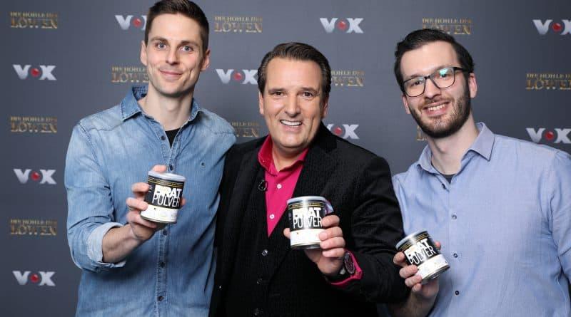 Paudar Gründer und Ralf Dümmel