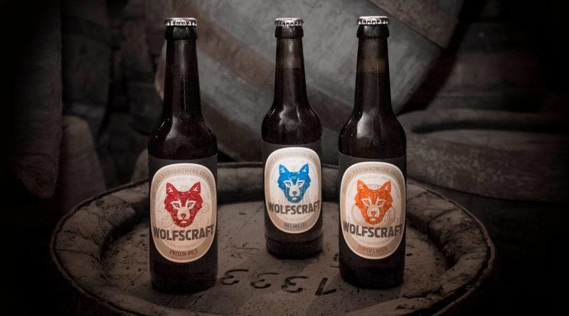 Wolfscraft - Bier mit Wolfspatenschaft