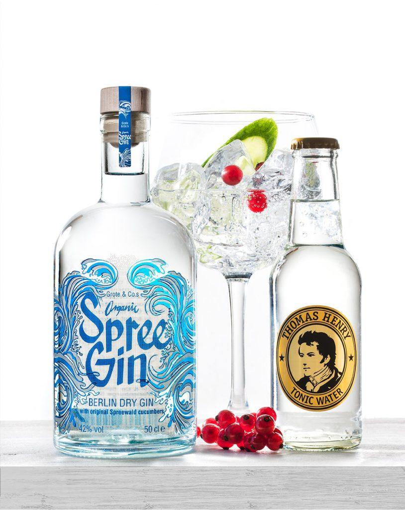 organic spree gin