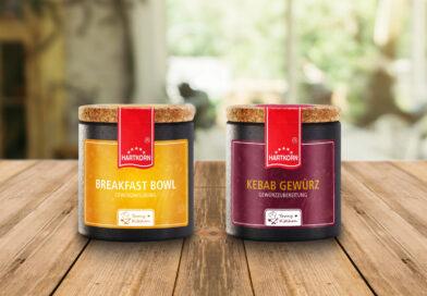Hartkorn: Produktneuheiten Breakfast Bowl und Kebab Gewürz