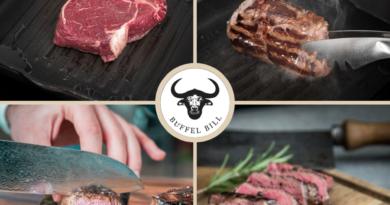 Feine Büffelfilets & -Steaks von Büffel Bill lassen Gourmet-Herzen höher schlagen